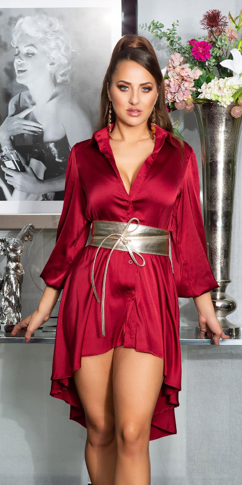 Rochii sexy cu spatele gol Silk-Look