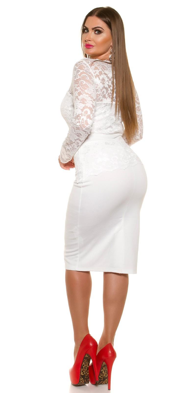 Rochii Curvy Girls Size sexy Midi- cu dantela