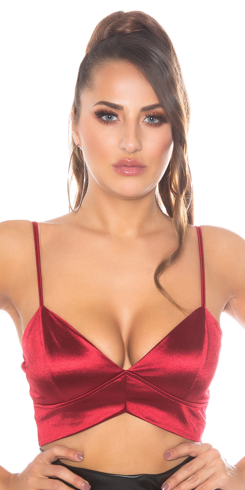 sexy model scurt Top/ Bustier